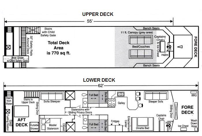 Image of floor plan for SuperCruiser